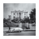 Pacific Heights Mansion Covered Car