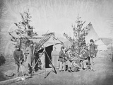 Camp Scene During the American Civil War