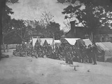 Infantry Company Group Photo During the American Civil War