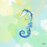 Watercolor Sea Creatures IV