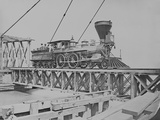 US Military Railroad Engine During the American Civil War