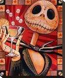 Jack Celebrates the Dead Tableau sur toile par Mike Bell