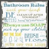 Bathroom Rules Multi