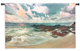 Peace On The Sand Wall Tapestry - Small