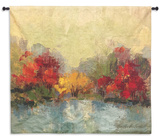 Fall Riverside I Wall Tapestry - Large *Exclusive*