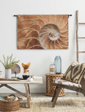Nautilus Wall Tapestry - Medium *Exclusive*