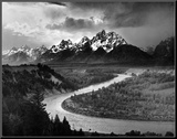 Tetons and The Snake River  Grand Teton National Park  c1942