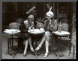Cafe et Cigarette Paris  1925