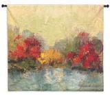 Fall Riverside I Wall Tapestry - Medium