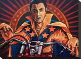Count Kneivel Tableau sur toile par Mike Bell