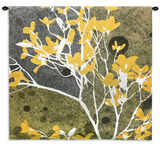 Moon Flowers III Wall Tapestry - Small