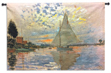 Monet: Sailboat Wall Tapestry - Large *Exclusive*