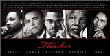 Thinker (Quintet): Peace  Power  Respect  Dignity  Love
