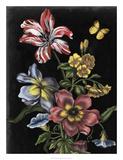 Dark Floral I