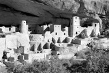 Cliff Palace Pueblo BW