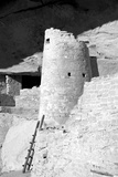 Cliff Palace Detail II BW
