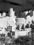 Cliff Palace Pueblo Portrait BW