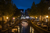 Amsterdam Canal at Night II