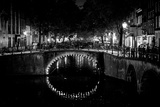 B&W Canal at Night II