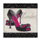 Pink Shoes Square I
