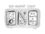Bad Memory Cards - New Yorker Cartoon