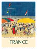 France - Deauville  Normandie (Normandy) - Le Bar du Soleil (The Sunshine Bar)
