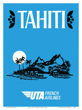 Tahiti - UTA (Union des Transports Aériens) - French Airlines