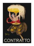 Contratto - Italian Sparkling Wine Champagne - Belle Époque Art