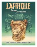 L'Afrique par Clipper (Africa by Clipper) - Pan American World Airways - African Cheetah