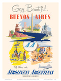 Gay and Beautiful - Buenos Aires  Argentina - Argentine Airlines