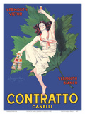 Contratto Canelli - Vermouth Victor - Vermouth Bianco - Italian Liquor