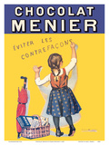 Chocolat Menier - Éviter Les Contrefaçons (Beware of Imitation) - French Chocolate Company