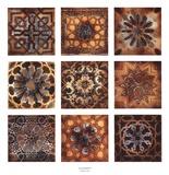 Turkish Tiles (Silver Foil Embellished)
