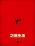 Spiderman Reproduction d'art par David Brodsky