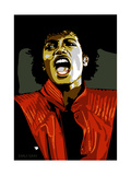 Michael Jackson - Thiller Reproduction d'art par Emily Gray