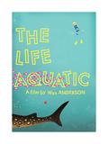 The Life Aquatic Reproduction d'art par Chris Wharton