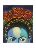 Frida Reproduction d'art par Carla Bank
