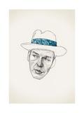 Sinatra Reproduction d'art par Jason Ratliff