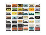 An Old Audio Cassette Reproduction d'art par Dubassy