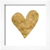 Romantic Icon III (gold foil)