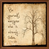 Be Yourself - Oscar Wilde Classic Quote