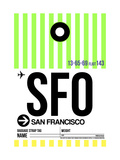 SFO San Francisco Luggage Tag 3