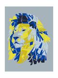 Broken Lion Reproduction d'art