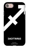 Sagittarius Zodiac Sign White