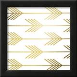 Golden Arrows I (gold foil)