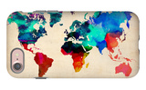 World Watercolor Map 1