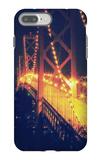 Vintage Bay Bridge Scene