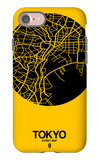 Tokyo Street Map Yellow