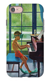 """Poolside Piano Practice "" June 11  1960"