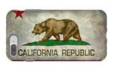 California State Flag With Distressed Treatment